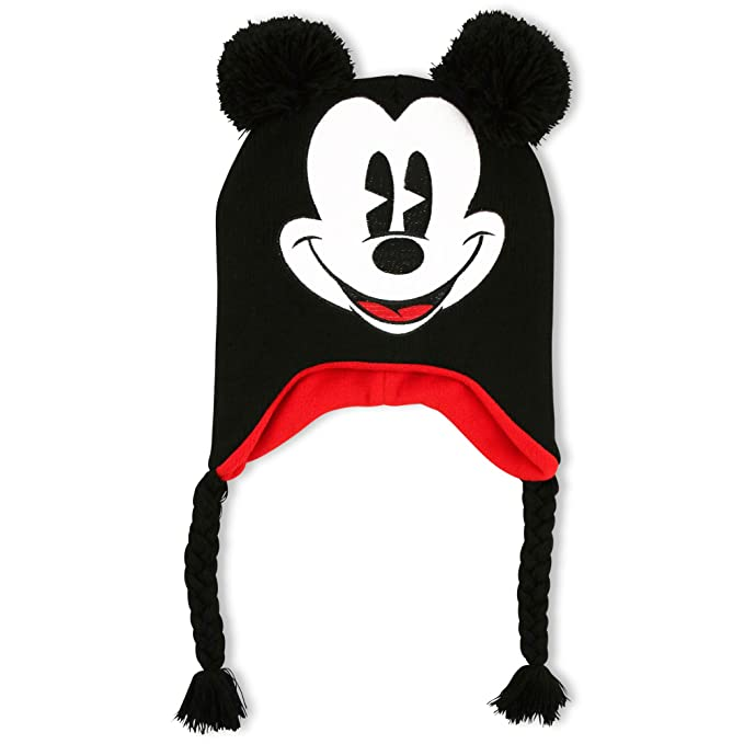 9a9ccfad7be Image Unavailable. Image not available for. Color  Disney Big Boys Mickey  Mouse Character Cold Weather Hat ...