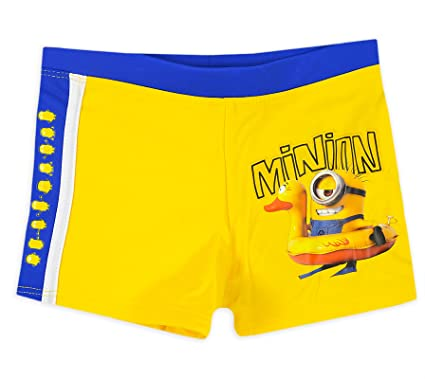 6d8ee83fa7 Boys Minions Swimming Trunks Kids Despicable Me Swim Shorts New:  Amazon.co.uk: Clothing