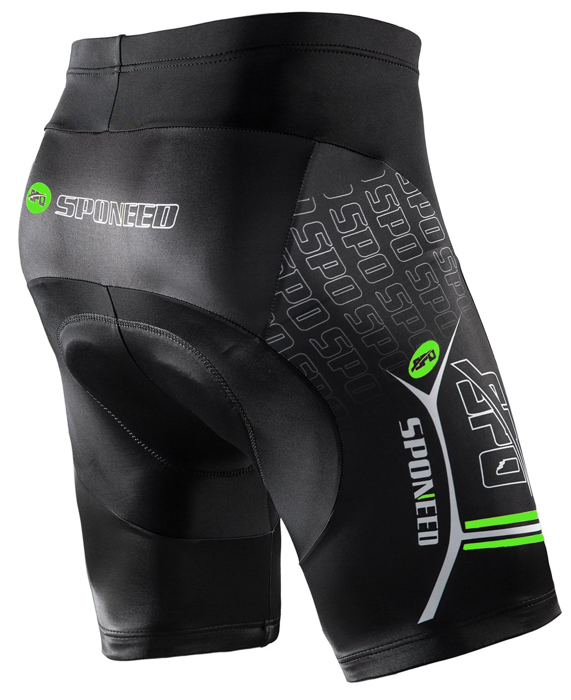 ab0be39440e0f Amazon.com : sponeed Men's Bike Shorts Gel Padded Bottoms Cycling Pants  Tights Bicycle Clothes Biking Gear : Clothing