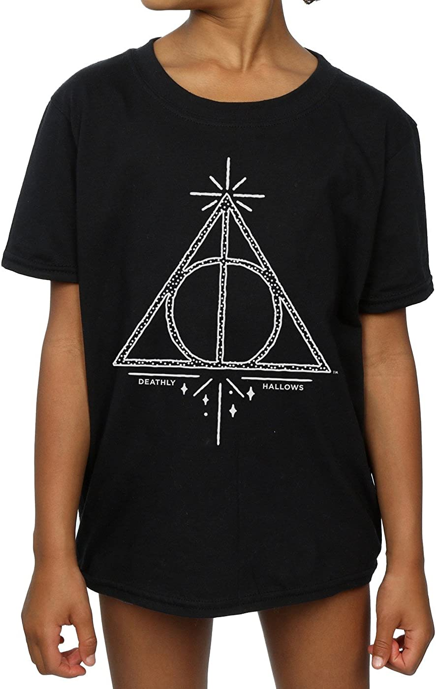 Harry Potter Girls Deathly Hallows Symbol T-Shirt