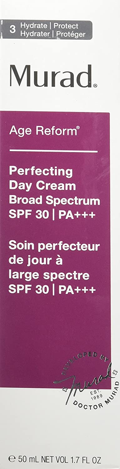 Murad Perfecting Day Cream, SPF 30, 3 Hydrate Protect, 1.7 fl oz 50 ml
