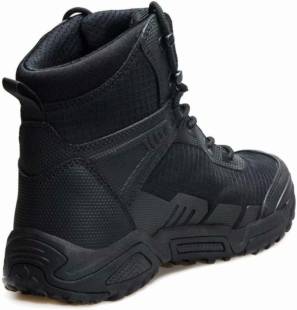 FREE SOLDIER Botas de Escalada Tacticas Hombre Botas Militares Transpirables Botas de Seguridad Hombre Trabajo Ligeros Zapatos de Monta/ña Trekking