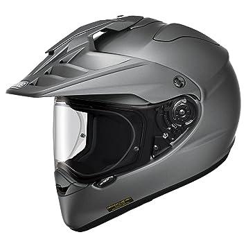 Amazon.com: Shoei Hornet x2 Deep, color gris mate Dual Sport ...