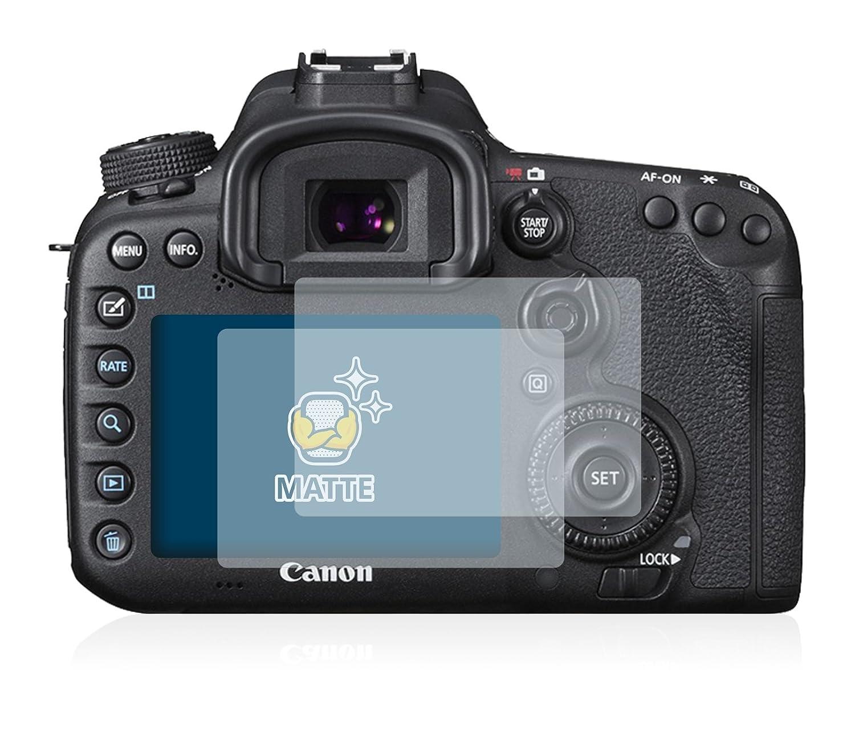 brotect Protection Ecran Anti-Reflet Compatible avec Canon EOS 7D Mark II 2 Pi/èces Film Protection Ecran Mat