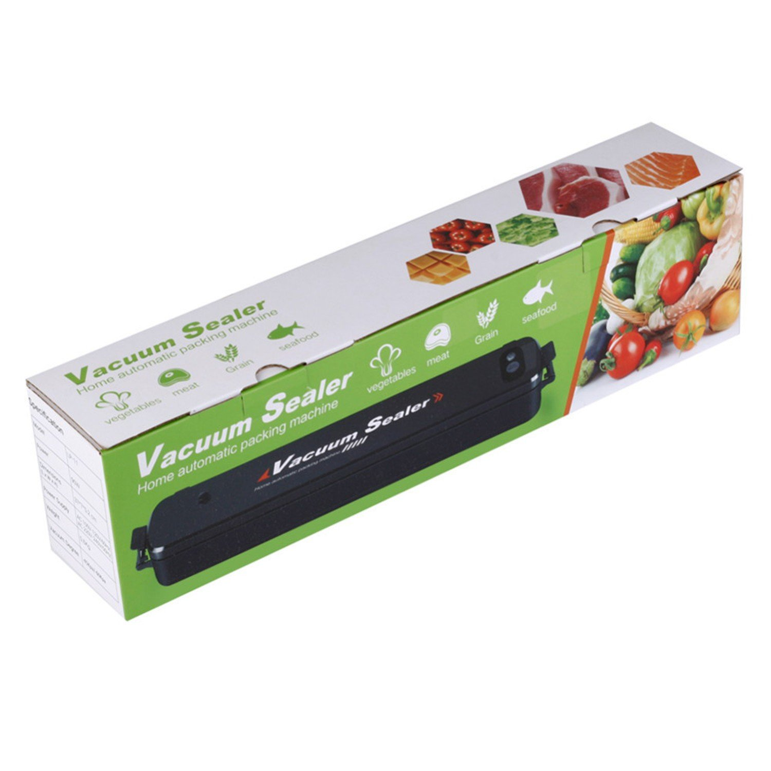Automatical 90W Household Mini Vacuum Sealer Food Preservation Machine + 15 Sealing Bags Kitchen Tool by Gogil (Image #6)