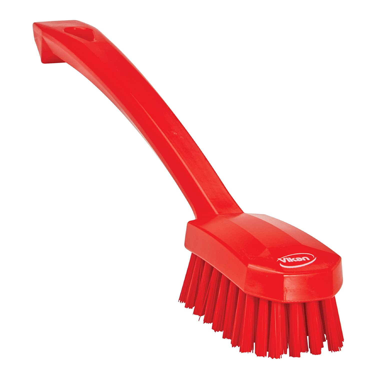 Vikan 30883 Small Utility Brush, Polyester Bristle, 2.76' Height, 1.57' Width, 10.24' Length, Polypropylene, Blue 2.76 Height 1.57 Width 10.24 Length Remco Products