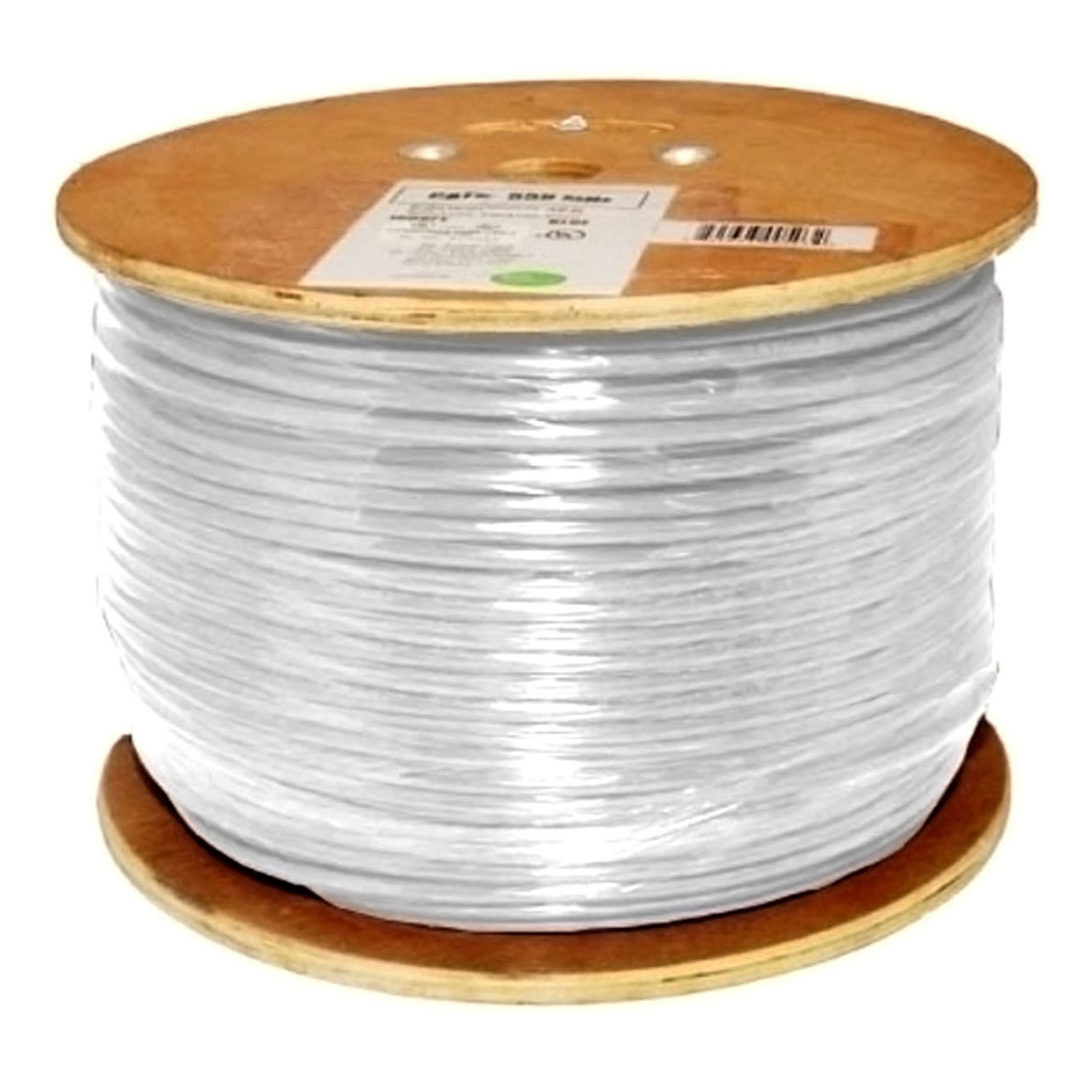 Amazon.com: Vertical Cable Cat6, 550 MHz, Shielded, 23AWG, Solid ...