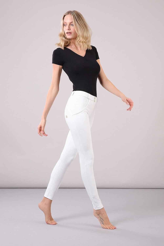 FREDDY Pantalone WR.UP/® Skinny Vita e Lunghezza Regular Eco-Pelle