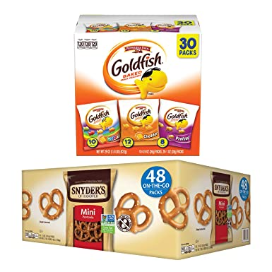 are goldfish made in a nut free facility