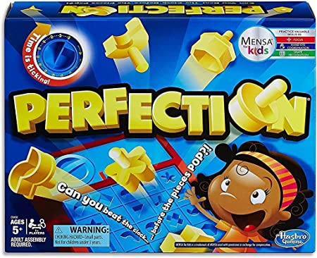 Hasbro Gaming Perfection Game Multicolor Hasbro Toys Games