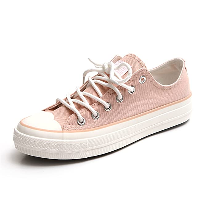 Amazon.com | Better Annie Woman Shoes New Spring Fashion Trend Zapatillas Deportivas Mujer Girls Lady Pink Shoes Casual White Shoes Size 35-39 | Loafers ...