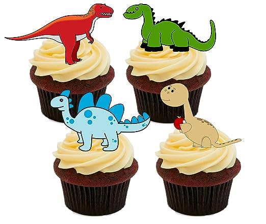 Decoraciones Y Toppings Novedad Dinosaurio Escena Comestibles Stand Up Oblea Papel Cake Toppers Cumpleanos Casa Jardin Y Bricolaje Beaumonde Ee La serie se desarrolla en la prehistoria, donde los dinosaurios viven en sociedad algo parecida a la humana, tienen familias y tecnología. bricolaje beaumonde ee