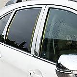 KUST zz33544w Auto Chrome Window Trim,Exterior