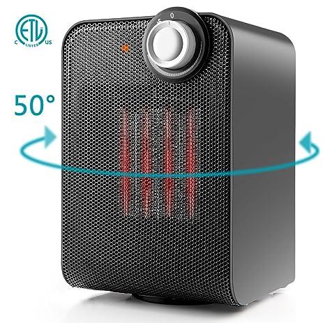 Amazon.com: Ceramic Space Heater, Indoor Electric Mini Desk ...