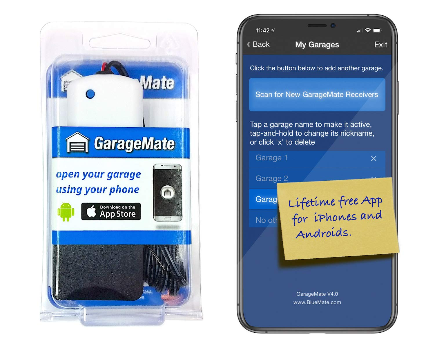 GarageMate: Open your garage with your iPhone or Android