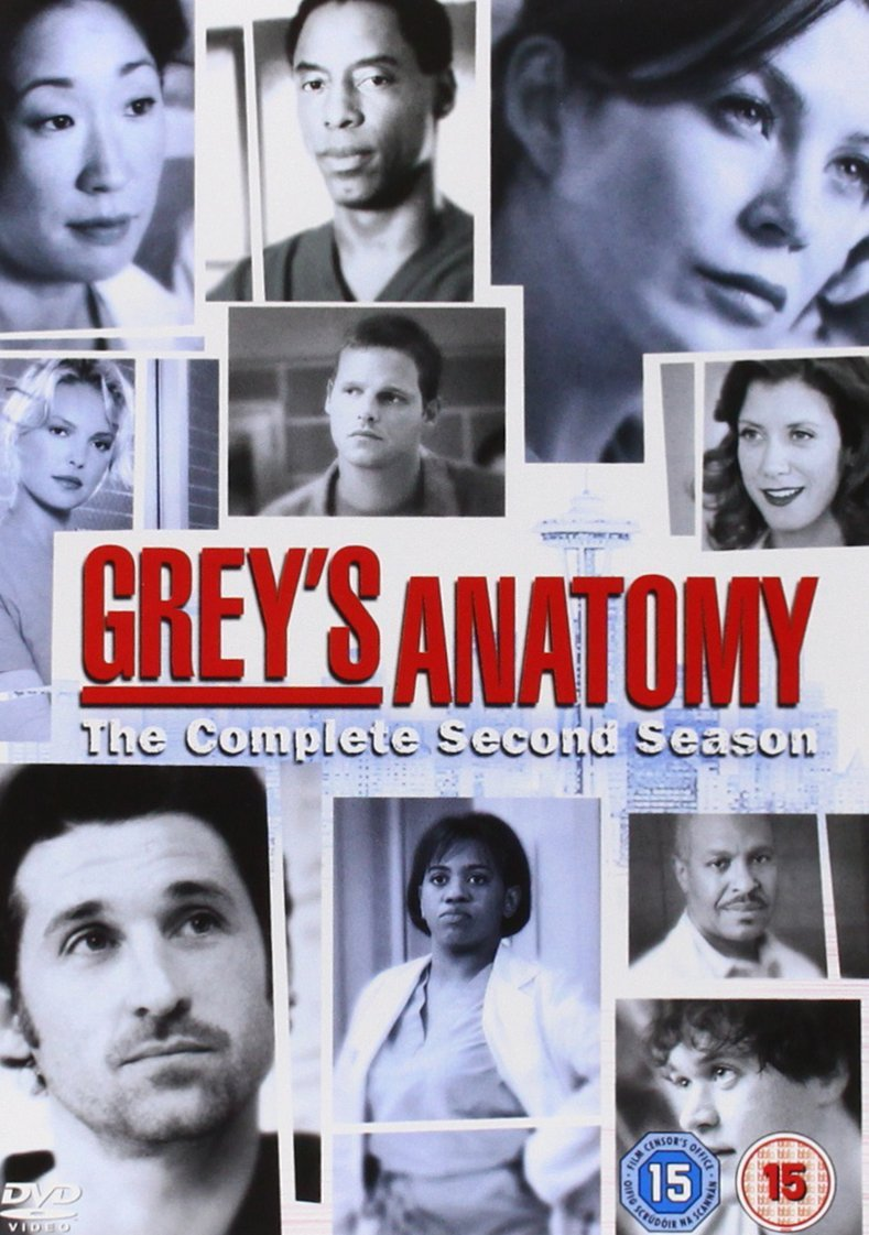 Amazon Greys Anatomy Season 2 Region 2 Boxed Set Ellen Pompeo