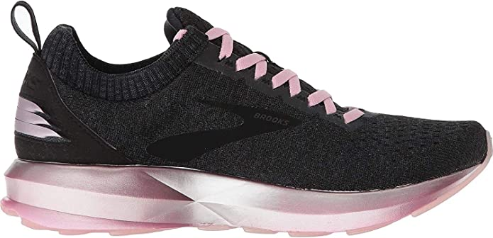 Brooks Levitate Sneakers Damen Schwarzgrau/Rosa