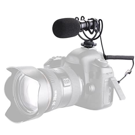 Neewer Micro Cámara de Vídeo Escopeta Microfono Condensador ...