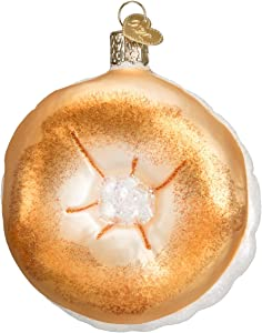Old World Christmas Ornaments: Bagel Glass Blown Ornaments for Christmas Tree (32221)