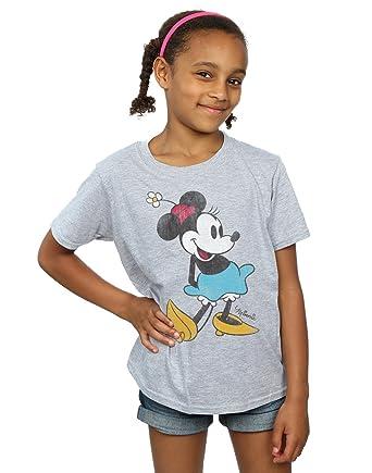 dddd948bbb37 Disney Disney Mädchen Mickey Mouse Classic Minnie Mouse T-Shirt T-Shirts   Amazon.de  Bekleidung