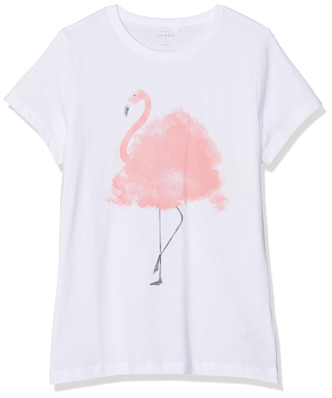 NAME IT M/ädchen Nkfveen Capsl Top J T-Shirt