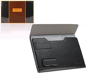 Broonel - Prestige - Black Luxury Laptop Folio Case Cover Compatible with TheHP EliteBook 8540p - Core i5 540M,