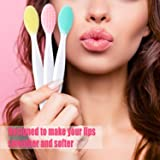 4 Pieces Silicone Exfoliating Lip Brush Tool