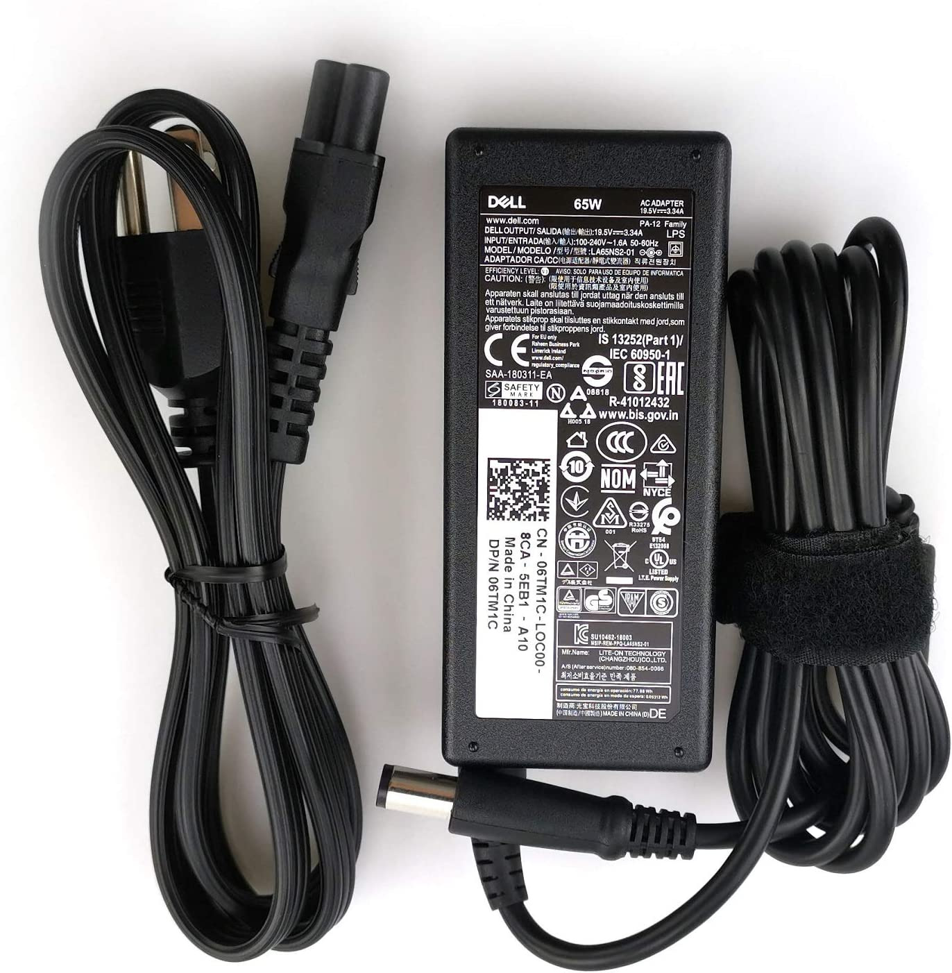 Dell PA-12 65W 9RN2C Laptop AC Adapter (HA65NS5-00)