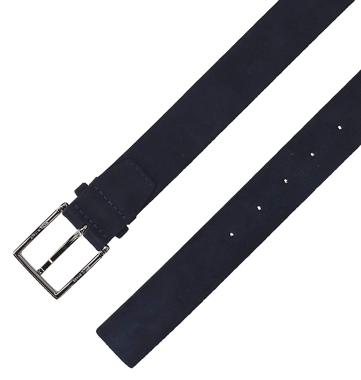 Orciani Mens U07706BLU Blue Suede Belt
