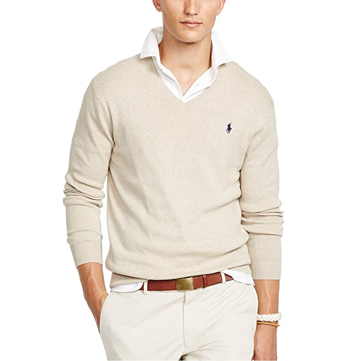 d11f02d0a66e Polo Ralph Lauren Men s Pima V-Neck Sweater