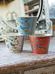 Set 3 Birds Pots 'Gipsy'