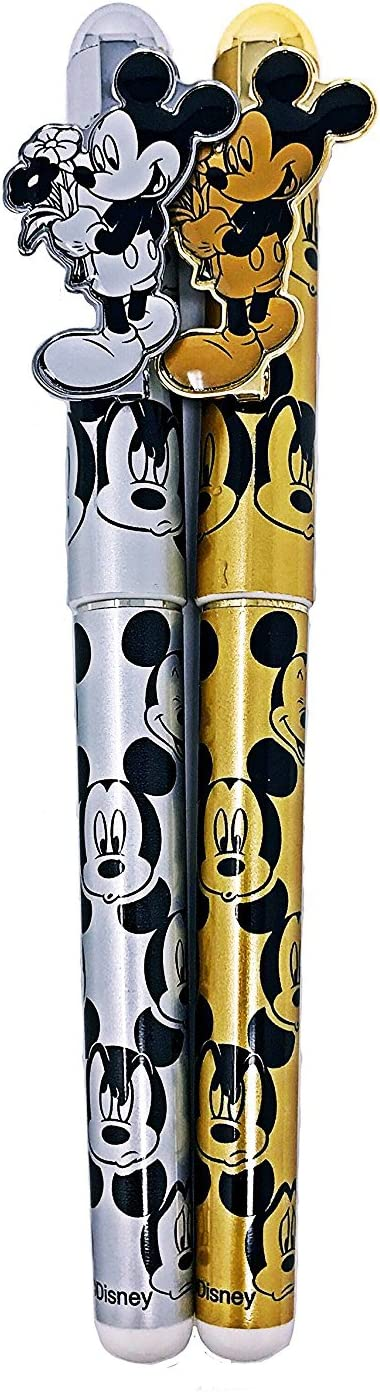 Disney Mickey Mouse Ball Point Pens 2pc set