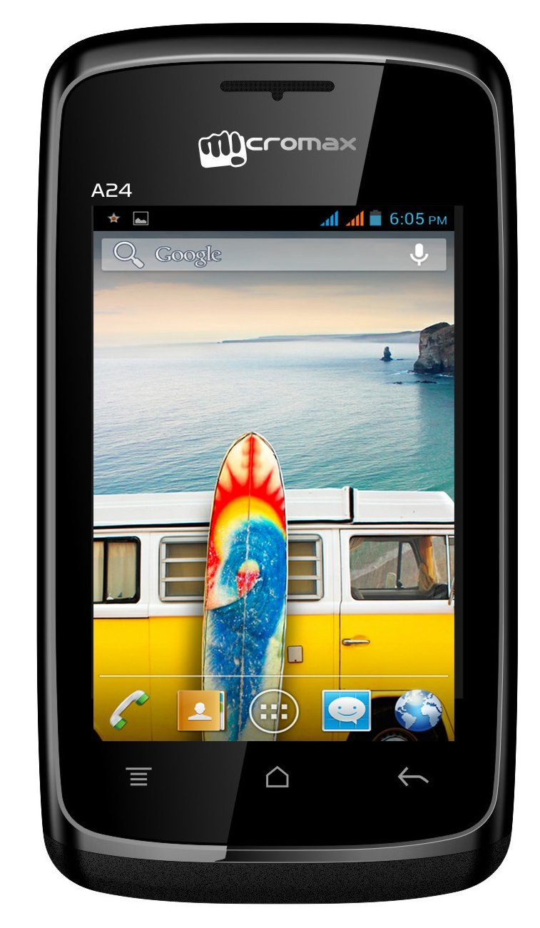 Micromax Bolt A24 (Black): Amazon in: Electronics