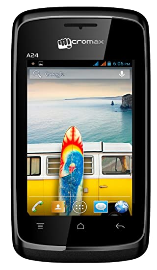 best website 9a0ab 81836 Micromax Bolt A24 (Black)