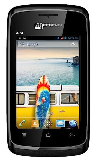 7e66e5d4c Micromax Bolt A24 (Black)  Amazon.in  Electronics