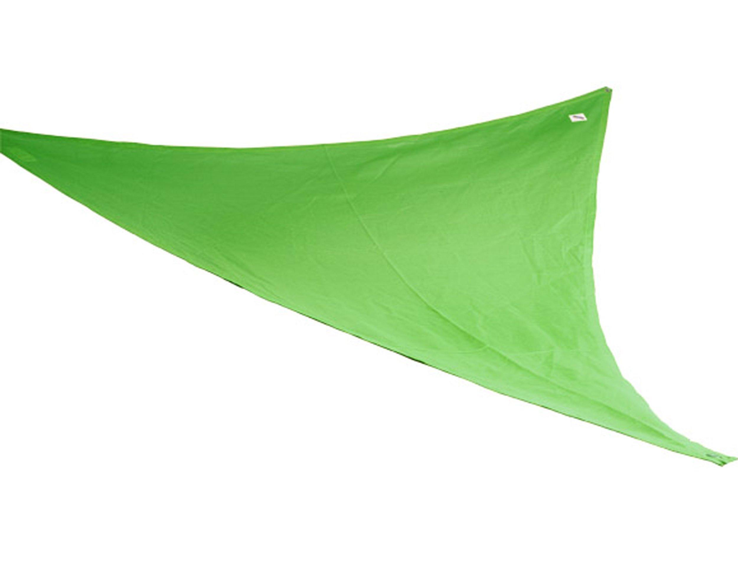 Coolaroo Kool Kolors Party Sail 9 Feet 10 Inch Triangle - Green