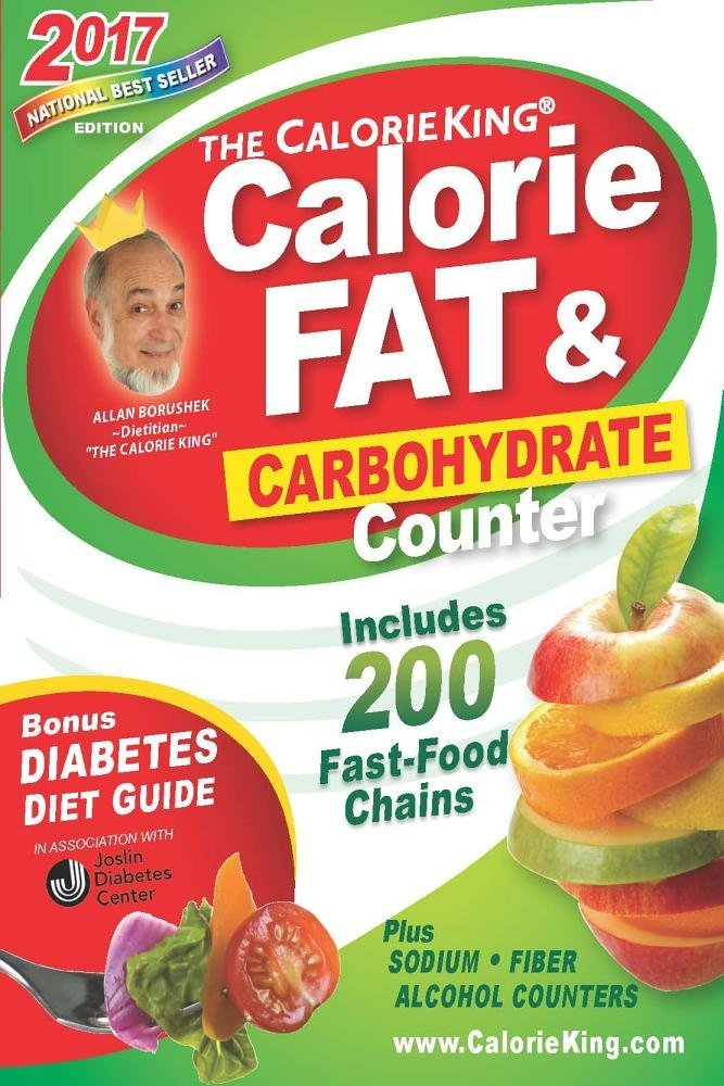 CalorieKing Calorie Carbohydrate Counter 2017 product image