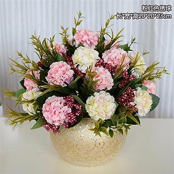 Exceptionnel SYHOME Usine De Fleurs Artificielles Fleurs En Soie Simulation Le Salon  Salle à Manger Table Table