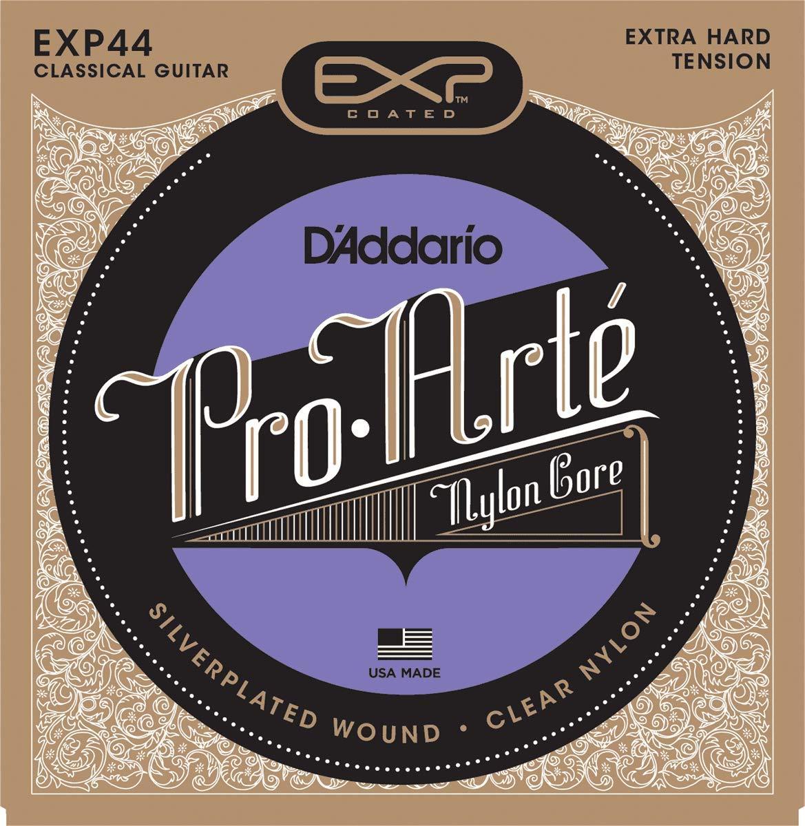 DAddario EXP44 - Juego de Cuerdas para Guitarra Acústica y Guitarra Clásica.029