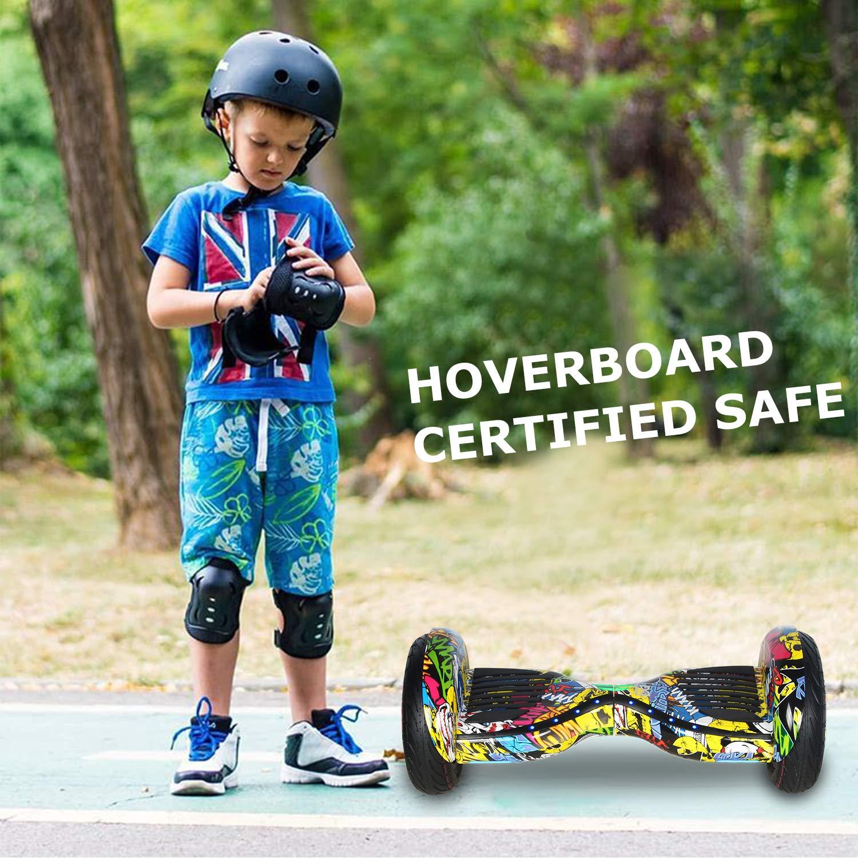 Monopattino Elettrico con Bluetooth Self Balance Scooter Elettrico COLORWAY Hover Board 10
