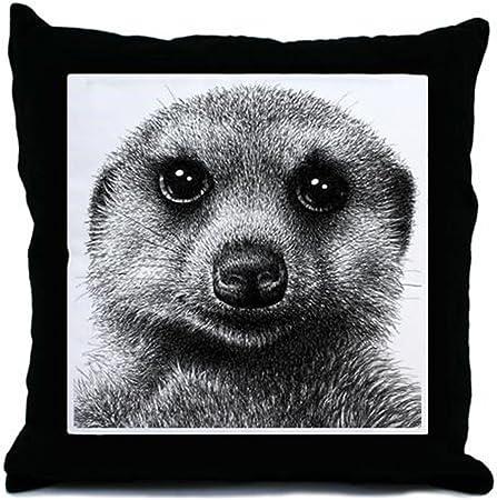 Meerkat Throw Pillow Amazon Co Uk Kitchen Home