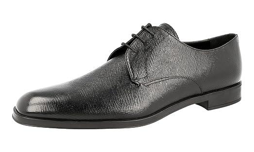 Men's 2EC089 Saffiano Leather Business Shoes