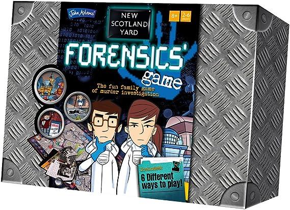 La escena del crimen - El juego de mesa familiar: Amazon.es: Juguetes y juegos