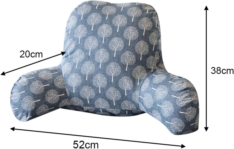 VISZC Lesekissen Komfort-Therapie-Lesekissen Spielen Lesen oder Fernsehen perfekt f/ür R/ückenunterst/ützung beim Entspannen abnehmbarer Pl/üschbezug