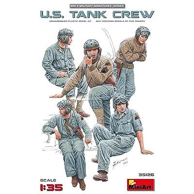 MiniArt U.S. Tank Crew: Toys & Games