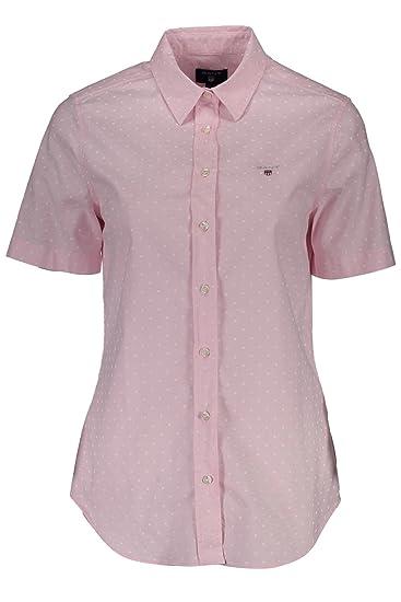 Camisa 432746 Mangas Cortas Con Mujer Rosa 34 1701 662 Las Gant qXxP5nBEwY
