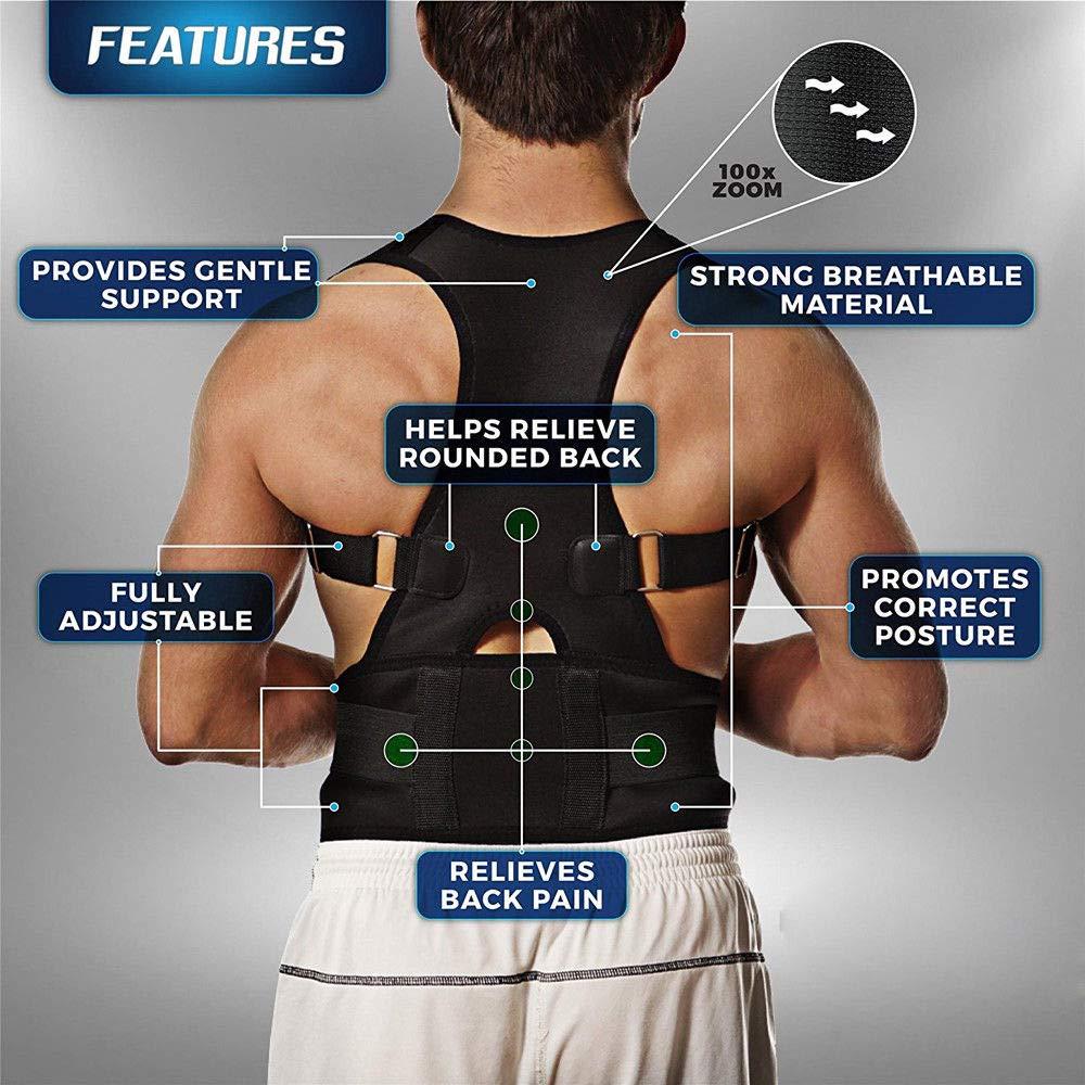 #1 Fajas Ortopedicas para Hombres Faja Correctora Posture La Espalda Talla (XL)