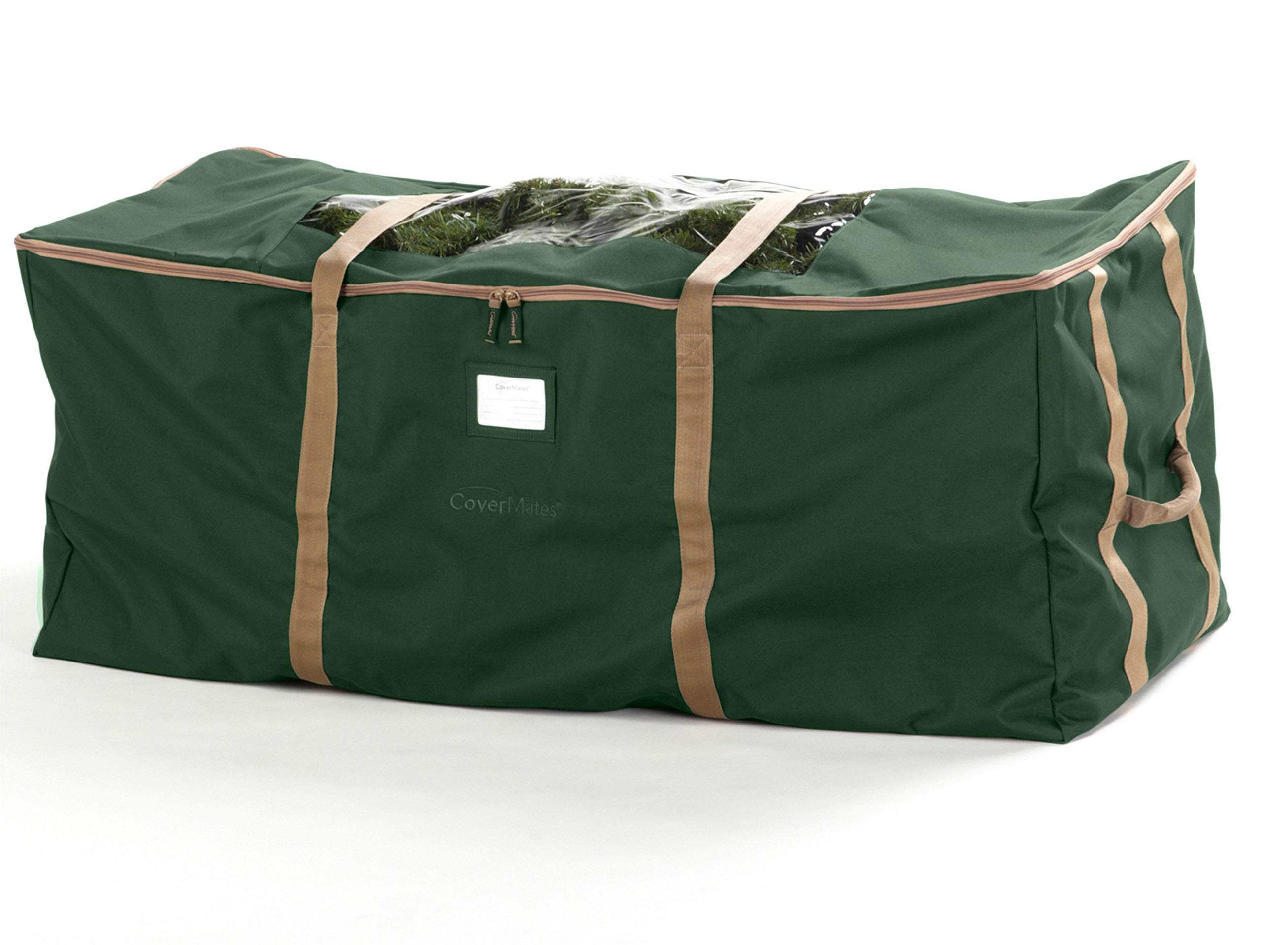 Covermates – Holiday Tree Storage Bag – Fits 9 to 11 Foot Tree – 3 Year Warranty- Green
