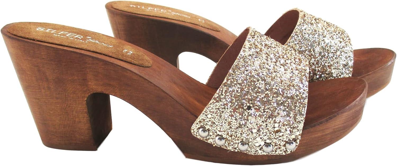 Mules pour Femme Silfer Shoes