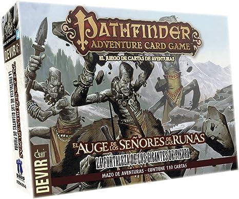 Devir - Pathfinder mazo 4: la Fortaleza de los Gigantes de Piedra, Juego de Mesa (222630): Amazon.es: Juguetes y juegos